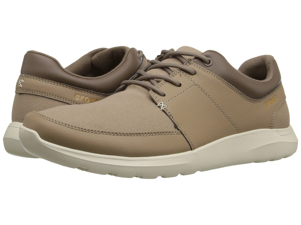 Crocs - Kinsale Lace-Up (Tumbleweed/Stucco) Men's Lace up casual Shoes