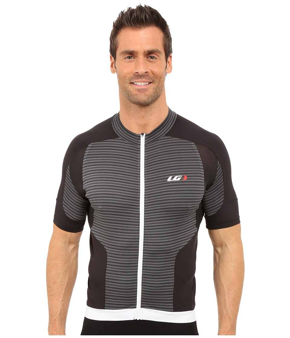 Louis Garneau - Icefit Jersey (Black/Grey) Men's Clothing