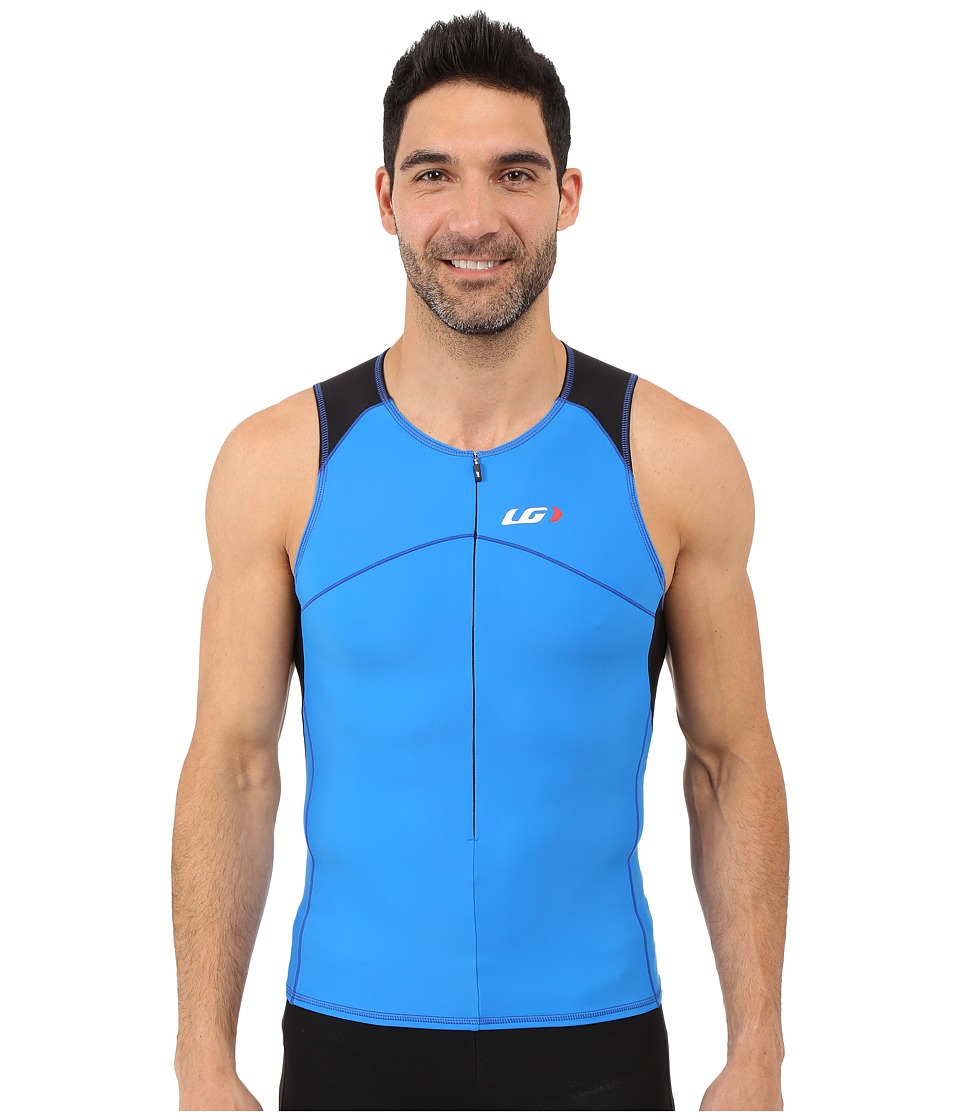 Louis Garneau - Men Comp Sleeveless (Curacao Blue) Men's Sleeveless