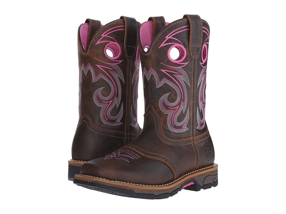 Irish Setter - Marshall (Brown/Pink 1) Women's Work Boots