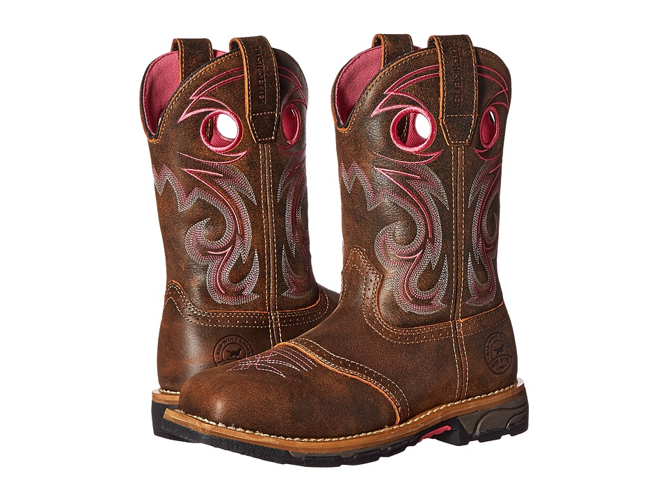 Irish Setter - Marshall (Brown/Pink) Women's Work Boots
