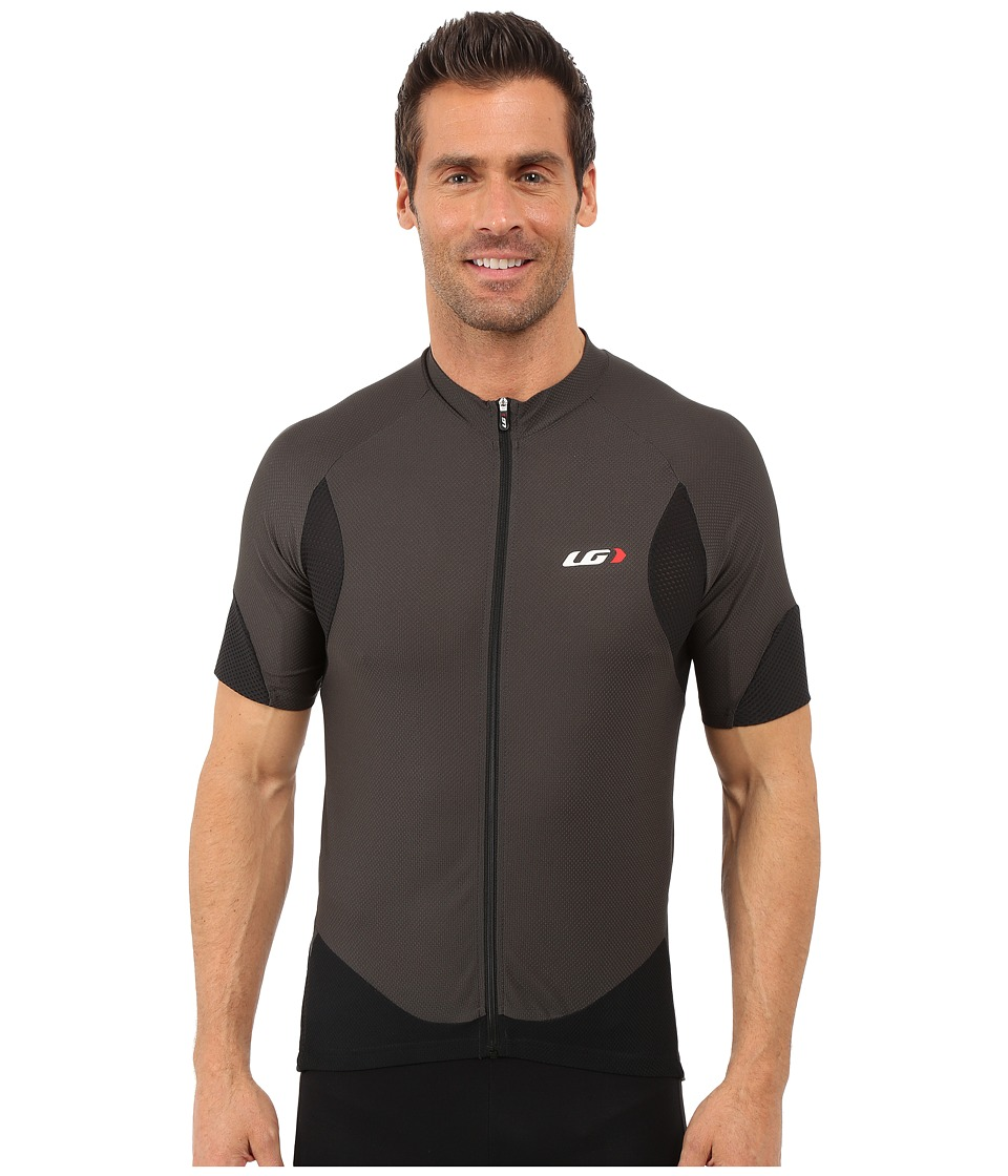 Louis Garneau - Metz Lite Jersey (Gray/Black) Men's Workout