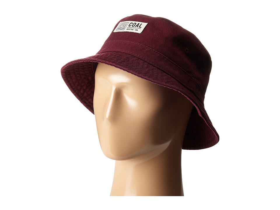 Coal - The Ernie (Burgundy) Baseball Caps