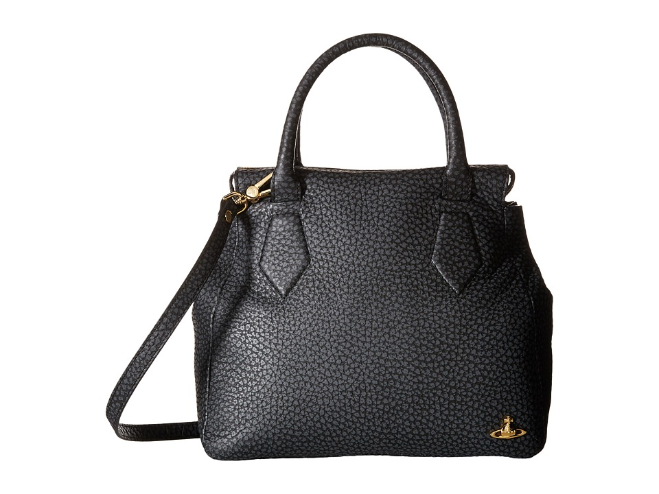 Vivienne Westwood - Braccialini Bolomi Bags Shopping (Black) Satchel Handbags