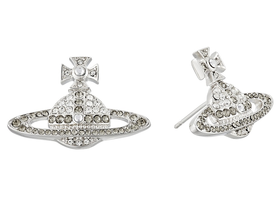 Vivienne Westwood - Kika Earrings (Crystal/Black Diamond) Earring