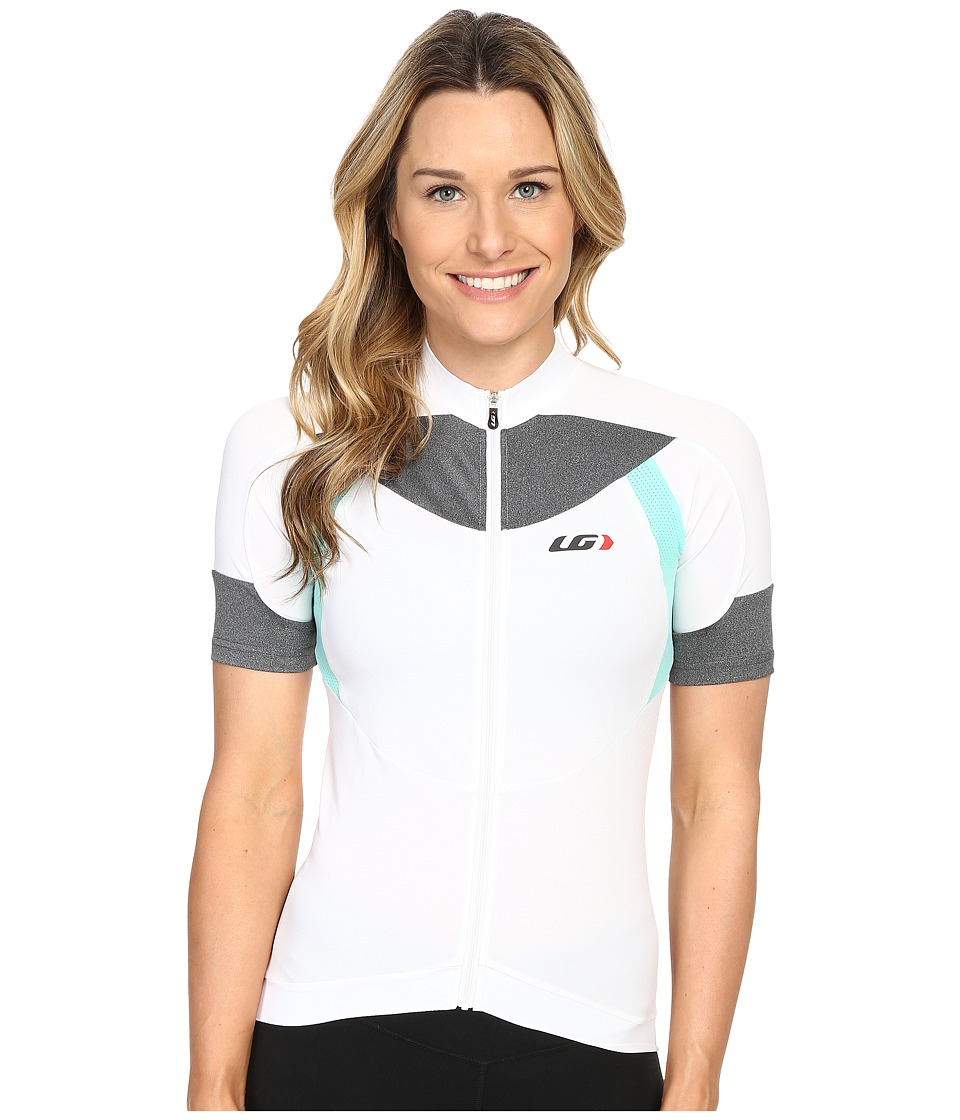 Louis Garneau - Icefit Jersey (White/Green) Women's T Shirt