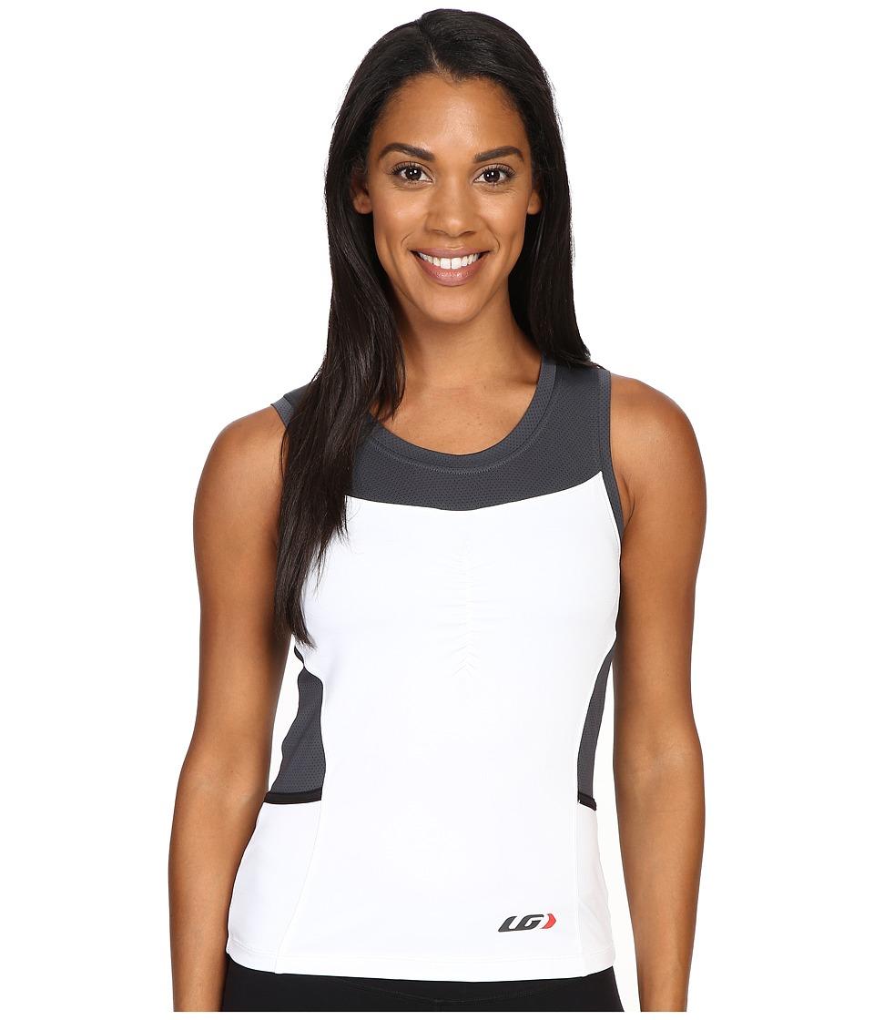 Louis Garneau - Emilia Top (White/Gray) Women's Workout