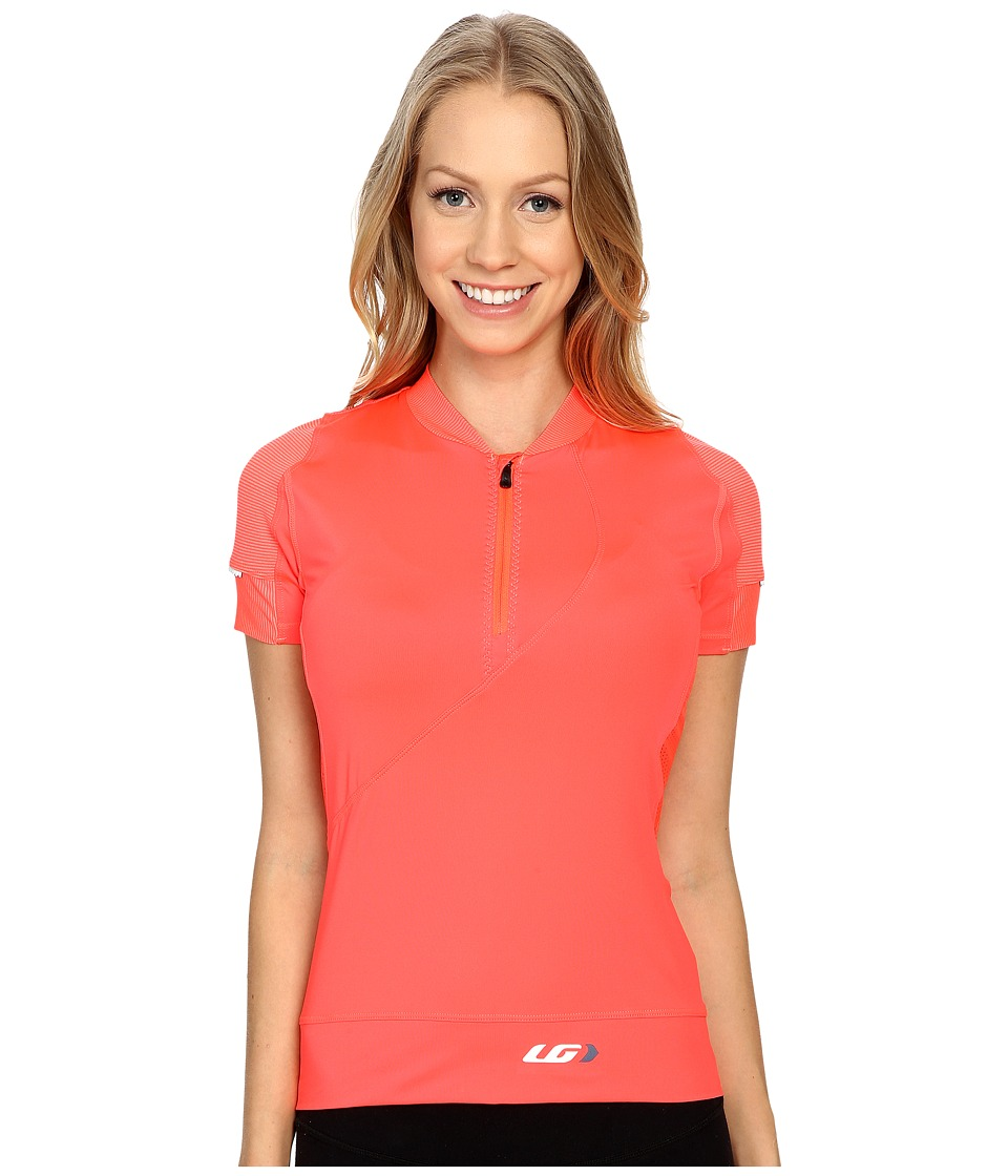 Louis Garneau - Gloria Jersey (Diva Pink) Women's Clothing