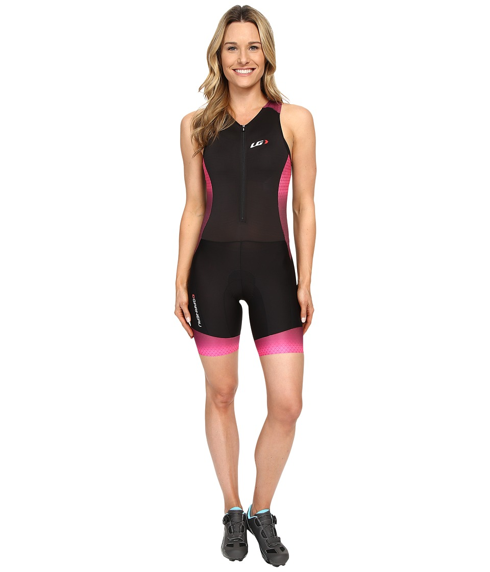 Louis Garneau - Pro Carbon Suit (Black/Candy Purple) Women's Race Suits One Piece
