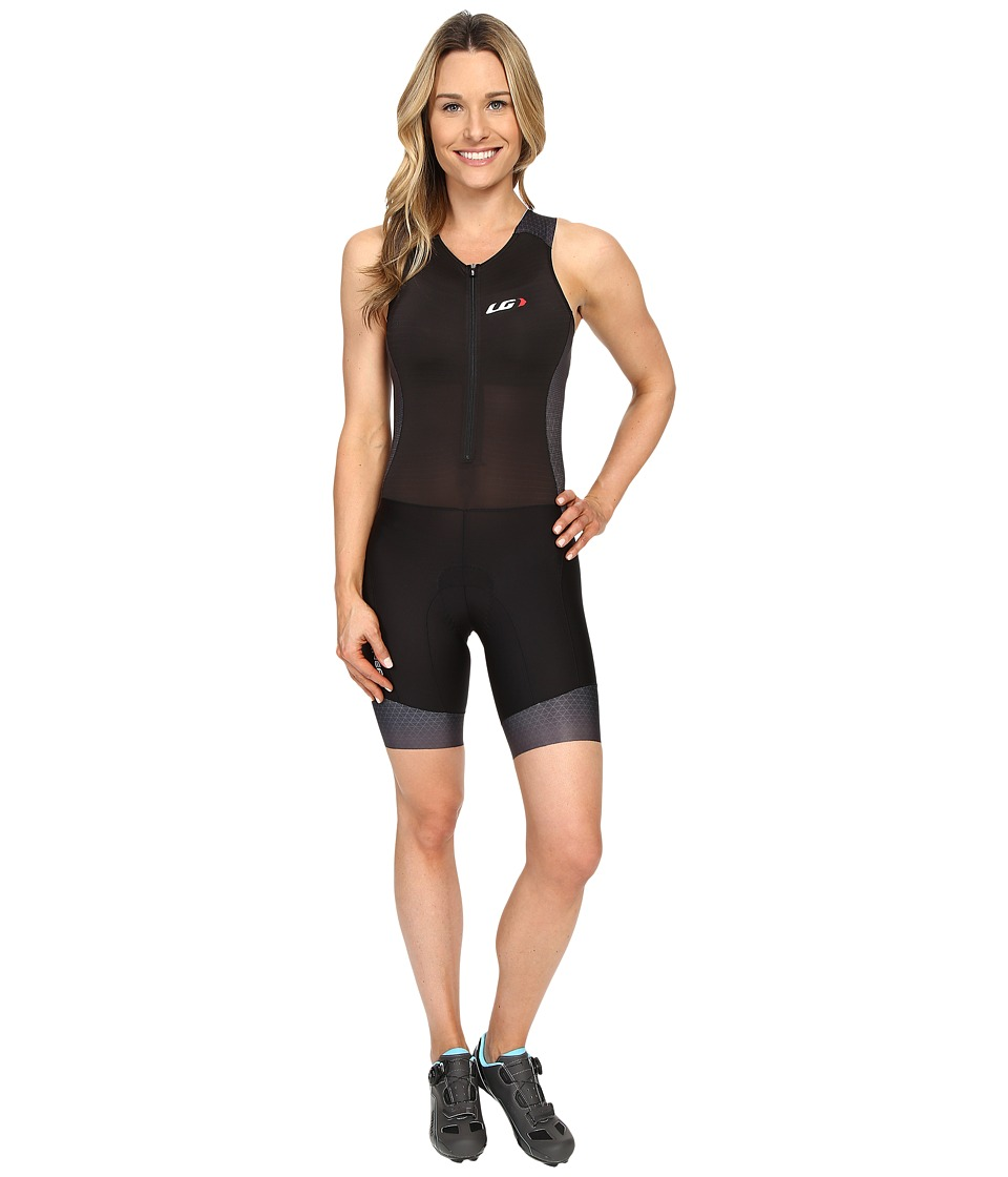 Louis Garneau - Pro Carbon Suit (Black/Asphalt) Women's Race Suits One Piece