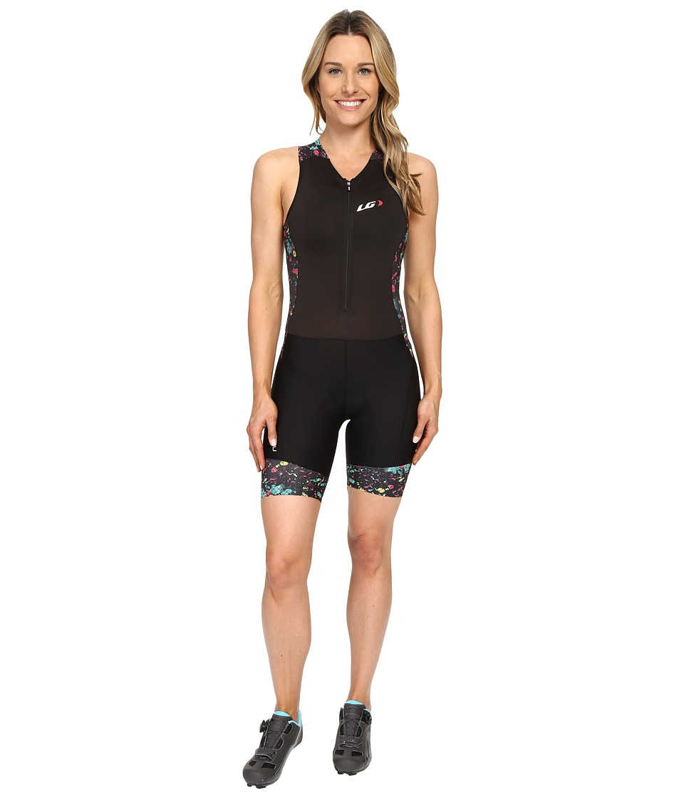 Louis Garneau - Pro Carbon Suit (Black/Multi) Women's Race Suits One Piece