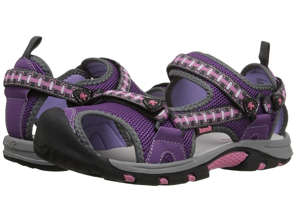 Kamik Kids Jetty 2 (Little Kid/Big Kid) (Purple/Violet) Girls Shoes