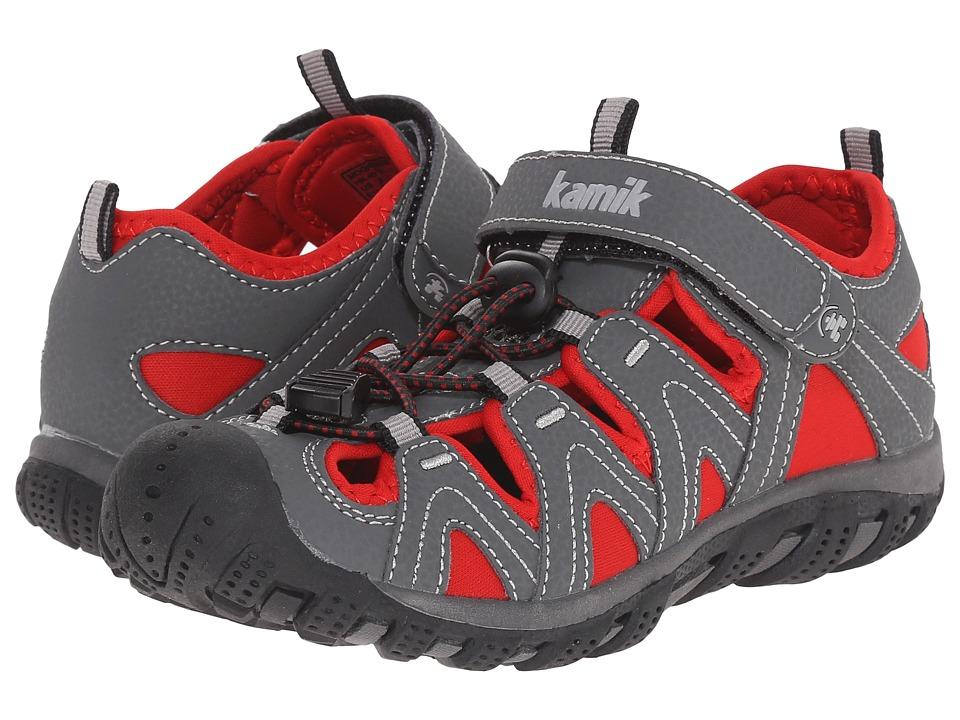Kamik Kids - Moorings (Little Kid/Big Kid) (Red) Boys Shoes