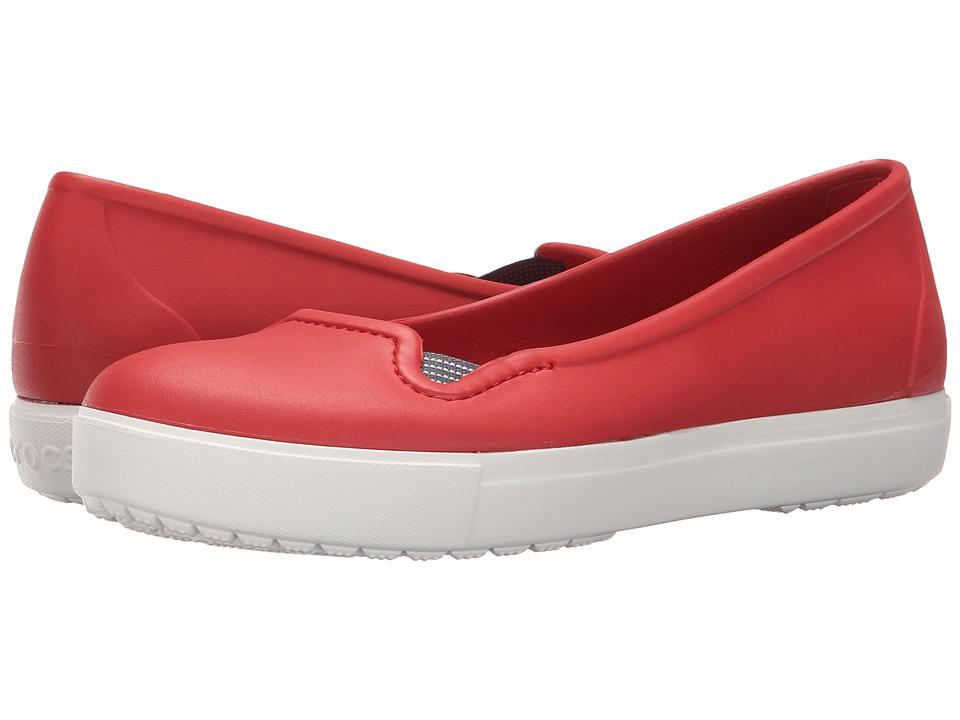 Crocs CitiLane Flat (Flame/White) Women