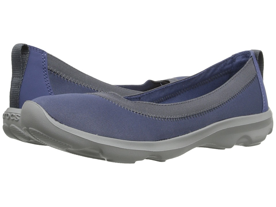 Crocs - Busy Day Stretch Flat (Bijiou Blue) Women