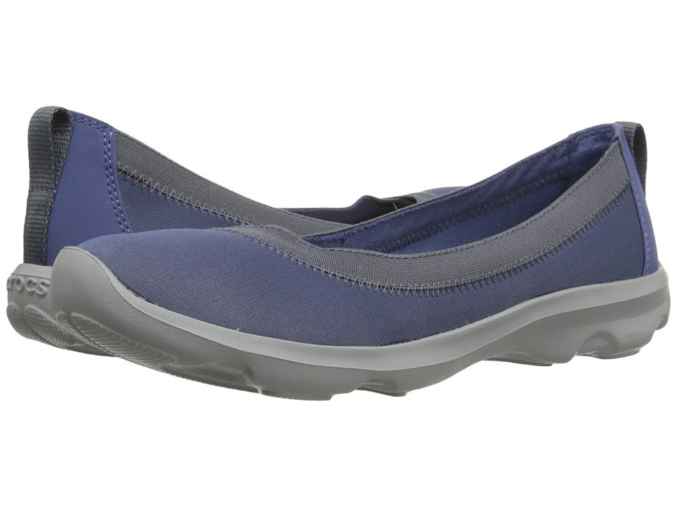 Crocs Busy Day Stretch Flat (Bijiou Blue) Women
