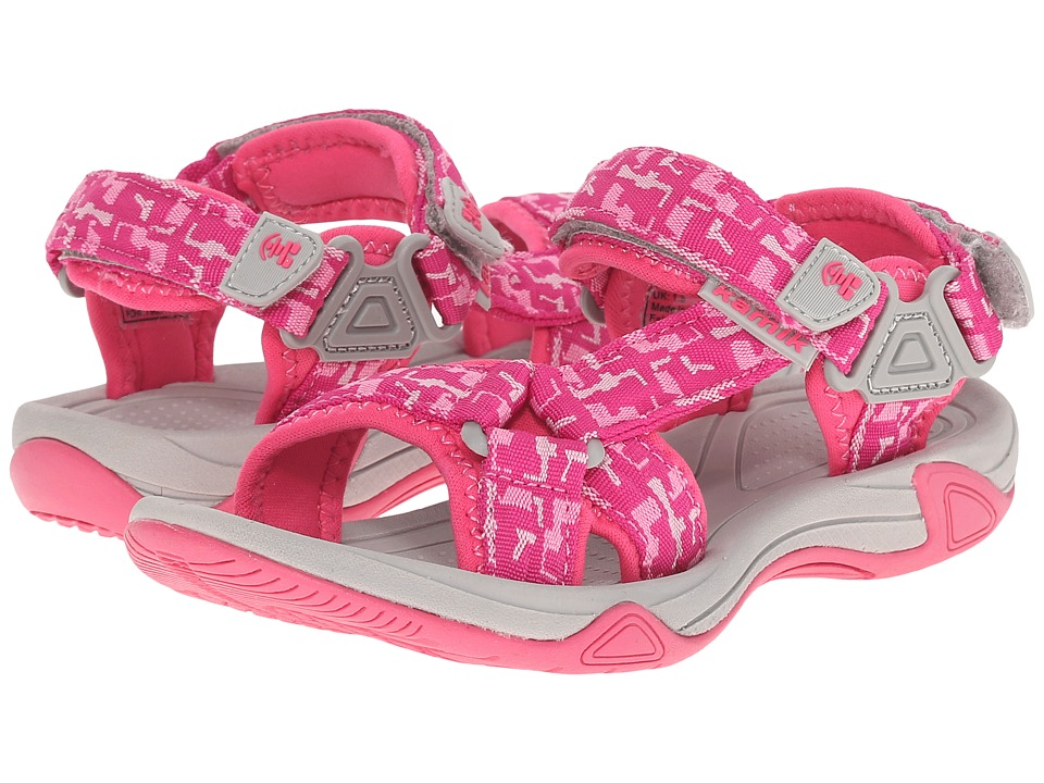 Kamik Kids - Lowtide (Little Kid/Big Kid) (Pink) Girl's Shoes