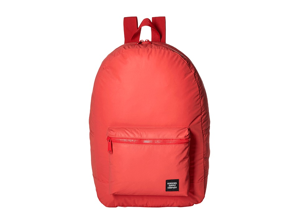 Herschel Supply Co. - Packable Daypack (Red Reflective) Backpack Bags