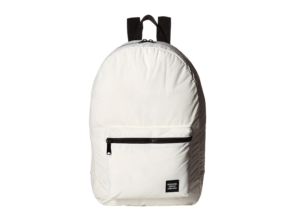 Herschel Supply Co. - Packable Daypack (White Reflective) Backpack Bags