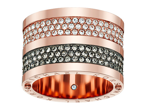 Michael Kors - Park Avenue Wide Banded Ring (Rose Gold) Ring