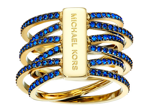 Michael Kors - Parisian Jewels Crisscross Ring (Gold) Ring
