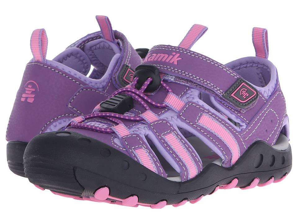 Kamik Kids - Crab (Toddler/Little Kid/Bid Kid) (Purple/Violet) Girl