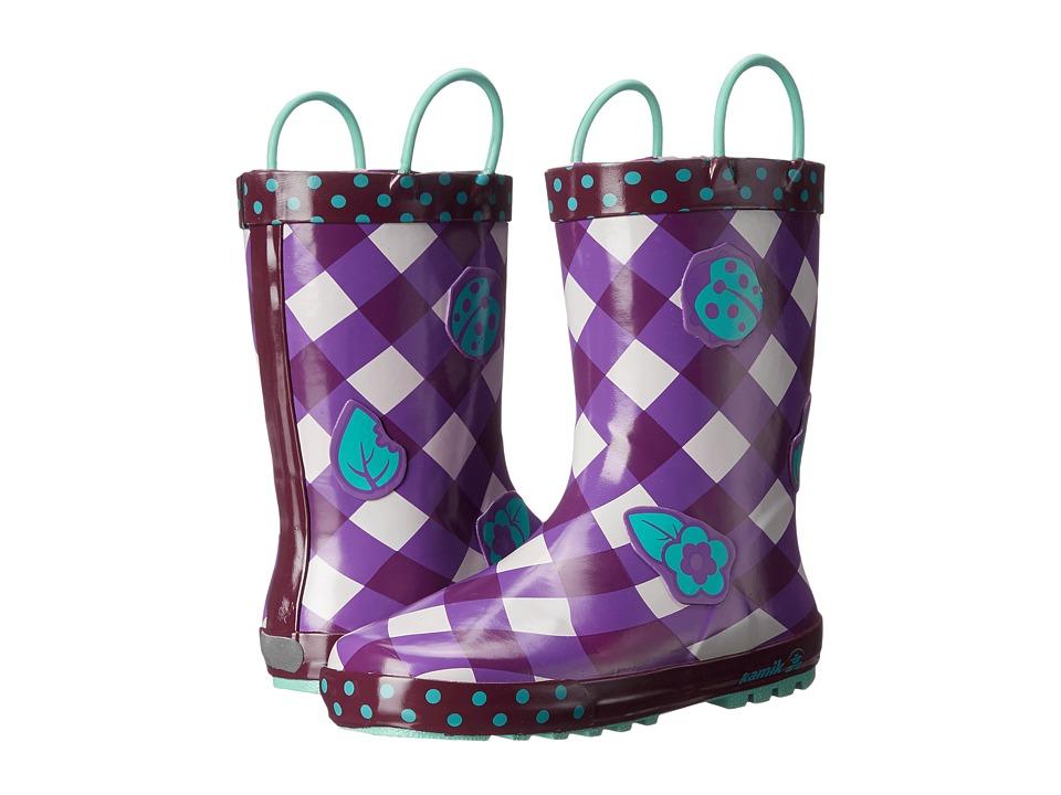 Kamik Kids - Ladybug (Toddler/Little Kid) (Purple/Violet) Girls Shoes