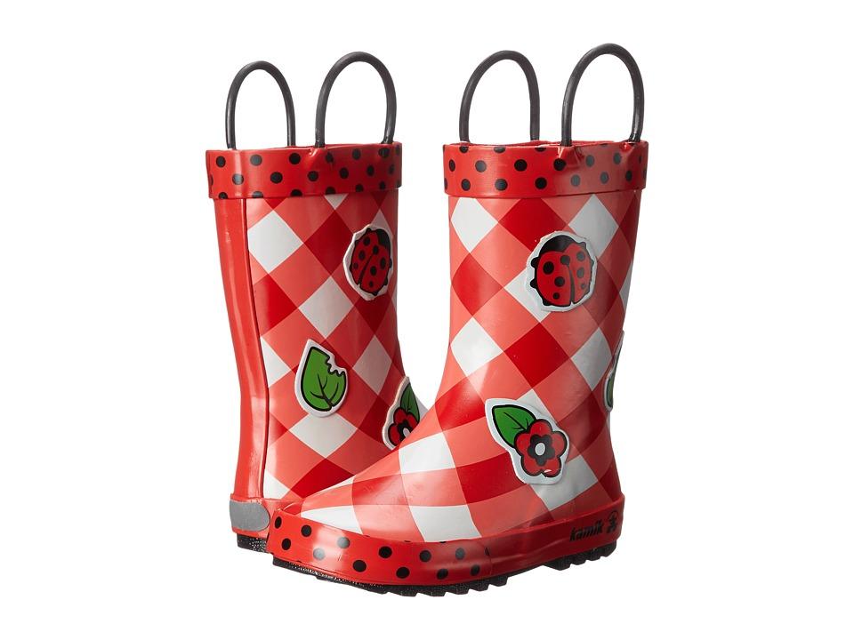 Kamik Kids - Ladybug (Toddler/Little Kid) (Red) Girls Shoes