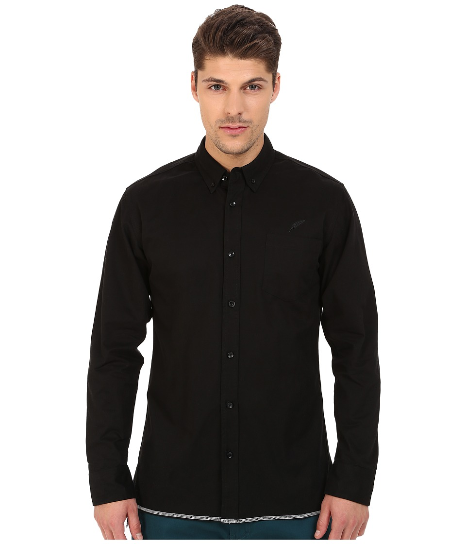 Publish - Cedar Button Up (Black) Men's Clothing
