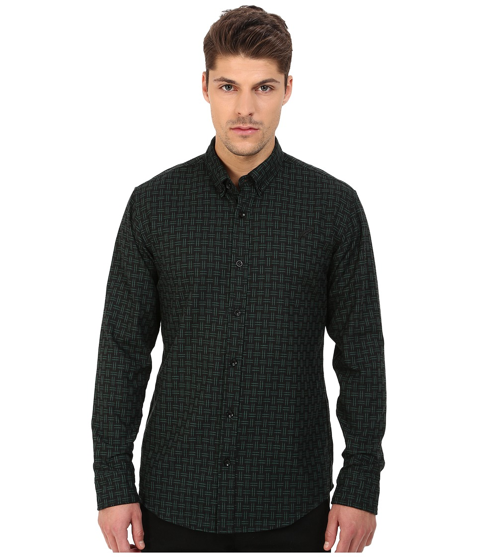 Publish - Javi Button Up (Olive) Men's Long Sleeve Button Up
