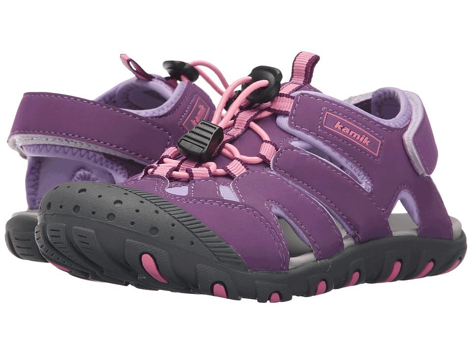 Kamik Kids - Oyster 2 (Toddler/Little Kid/Big Kid) (Purple) Girl's Shoes