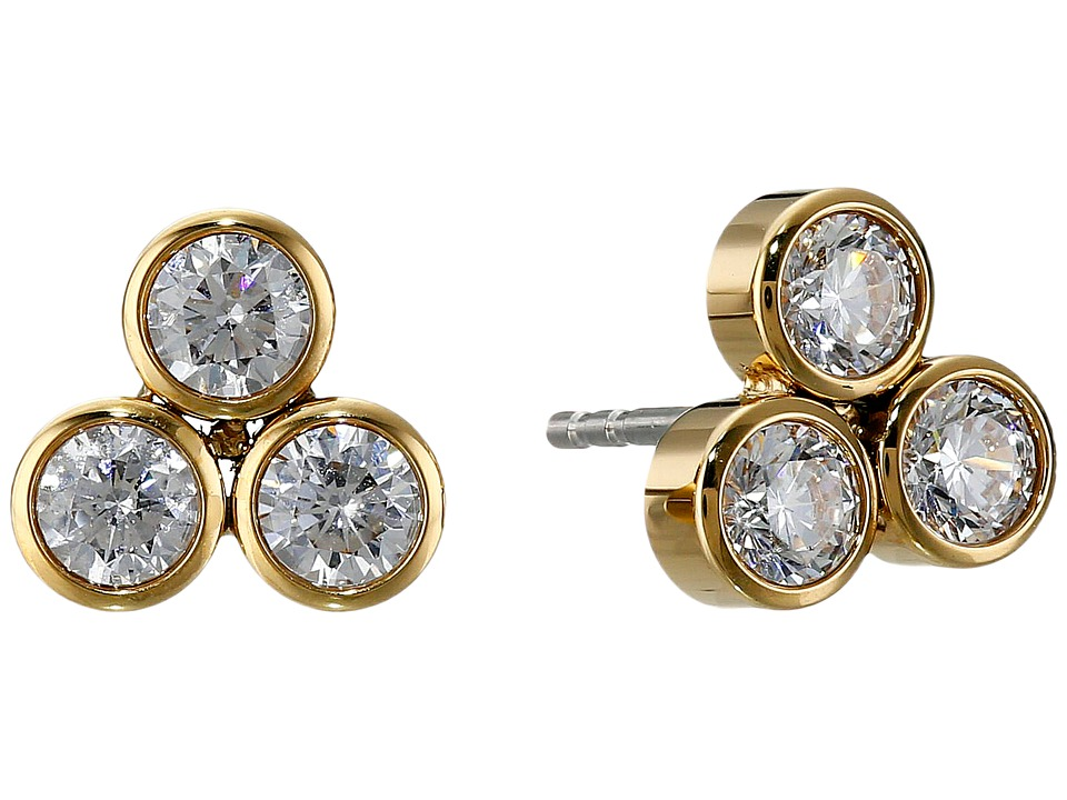 Michael Kors - Park Avenue Stud Earrings (Gold 2) Earring