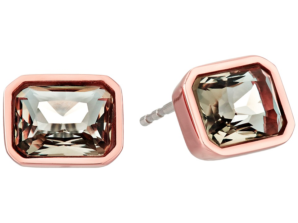 Michael Kors - Park Avenue Stud Earrings (Rose Gold 1) Earring