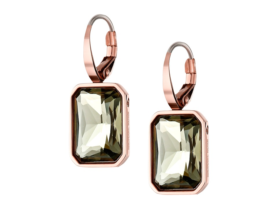 Michael Kors - Parisian Jewels Drop Earrings (Rose Gold) Earring
