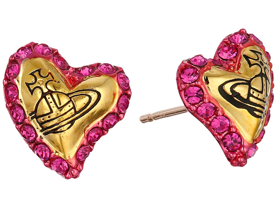Vivienne Westwood - Zita Earrings (Fuchsia) Earring