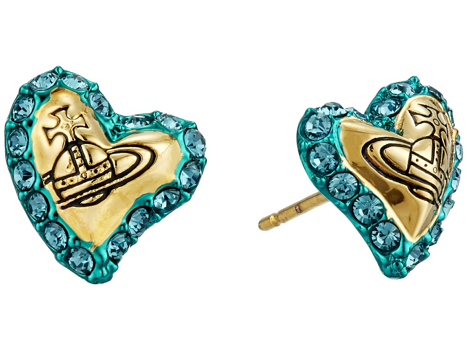Vivienne Westwood - Zita Earrings (Turquoise) Earring