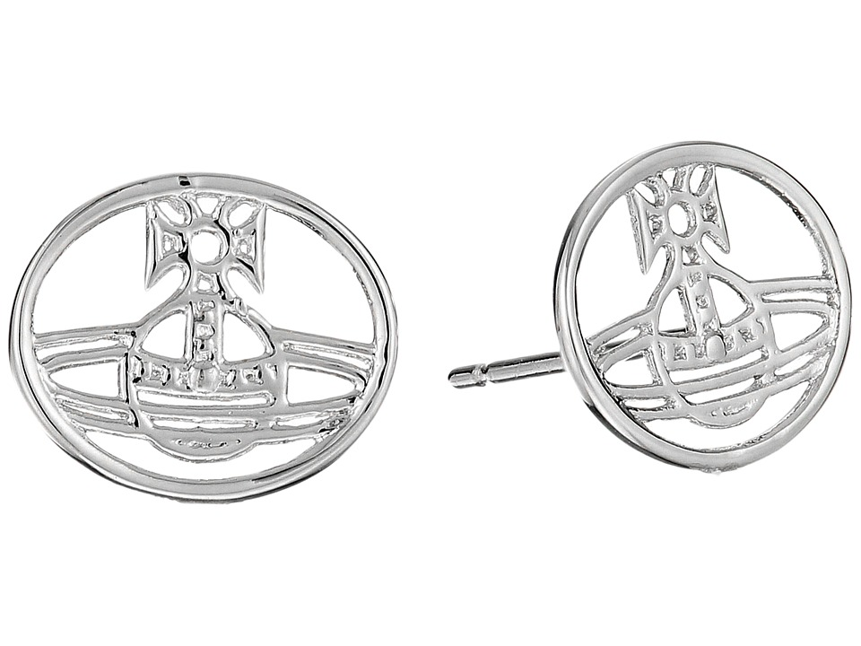 Vivienne Westwood - Elodie Earrings (Rhodium) Earring