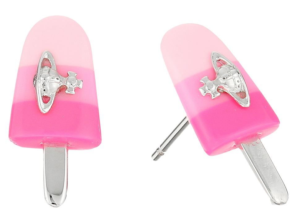 Vivienne Westwood - Holly Earrings (Pink) Earring