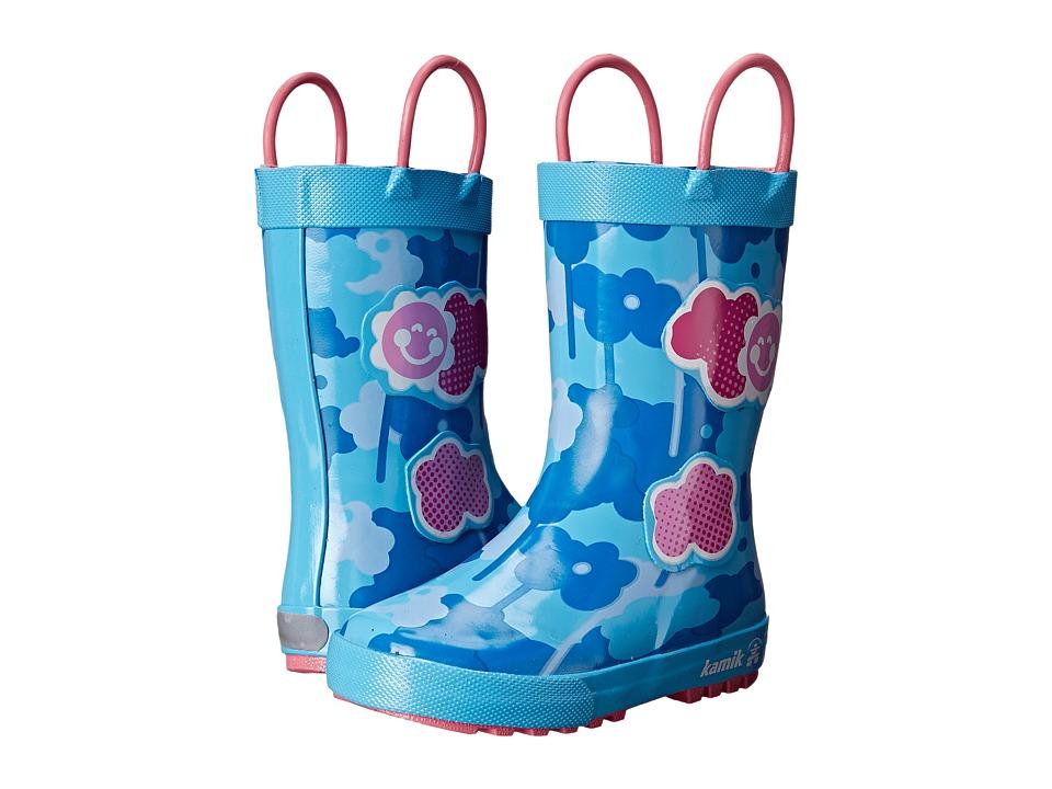 Kamik Kids - Wildcloud (Toddler/Little Kid) (Light Blue) Girl's Shoes