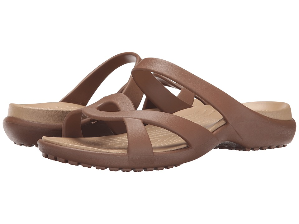 Crocs - Meleen Twist Sandal (Bronze/Gold) Women's Sandals