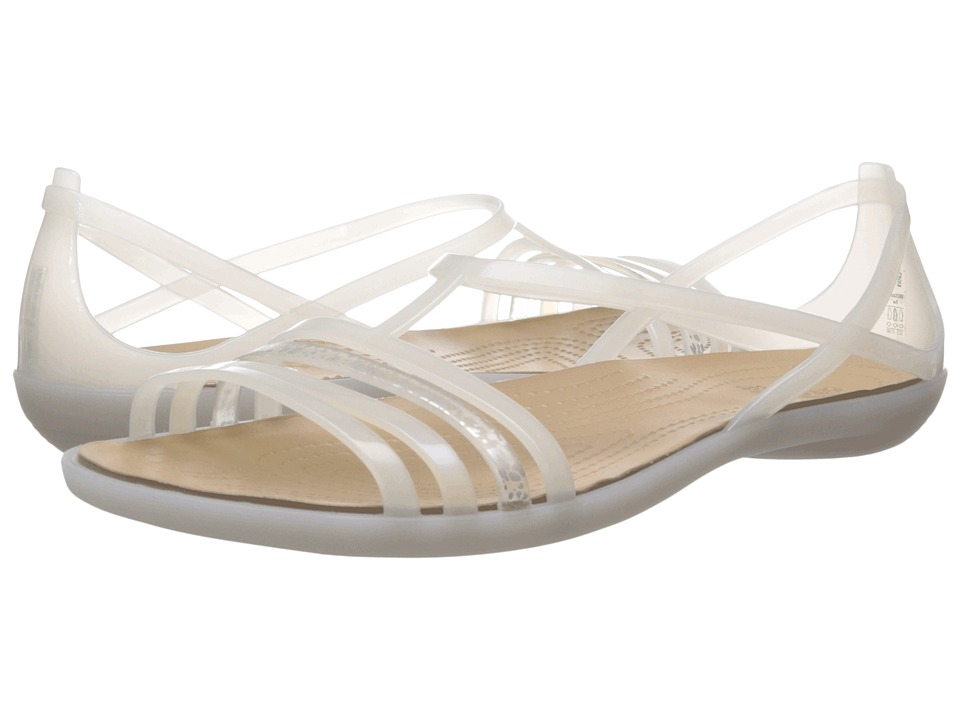 Crocs - Isabella Sandal (Oyster) Women's Sandals