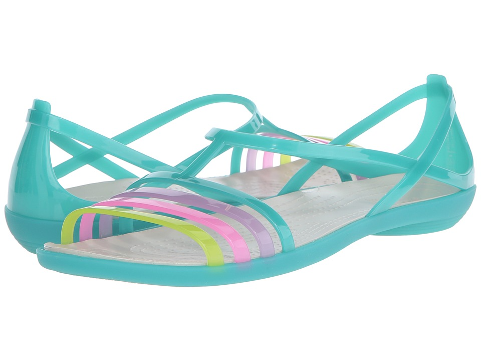 Crocs - Isabella Sandal (Island Green) Women's Sandals