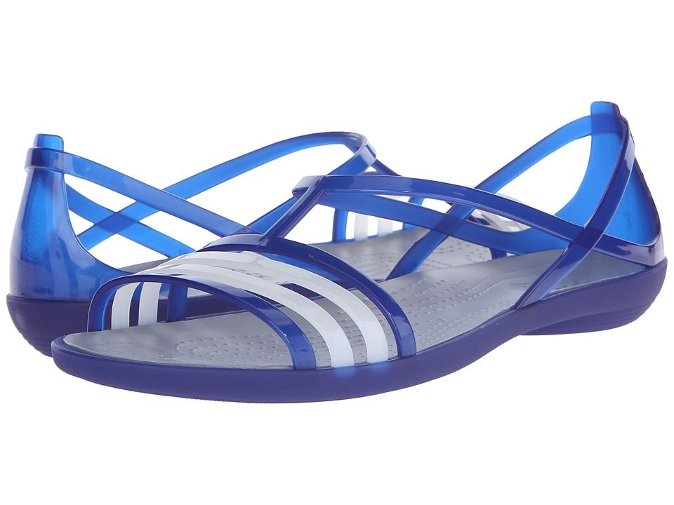 Crocs - Isabella Sandal (Cerulean Blue) Women's Sandals