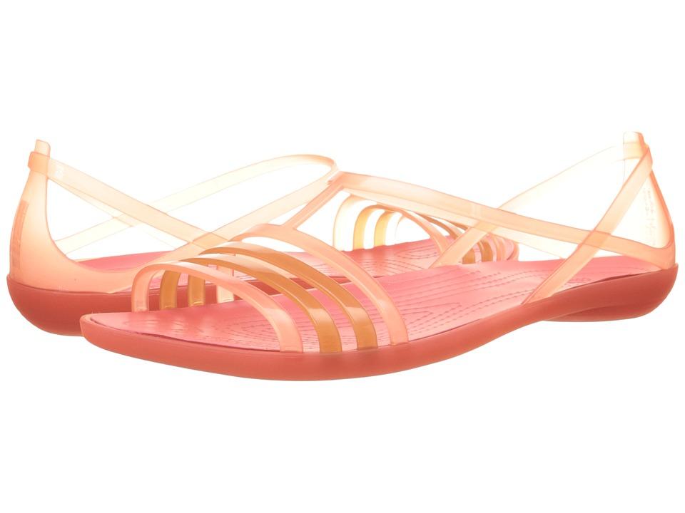 Crocs - Isabella Sandal (Coral) Women's Sandals