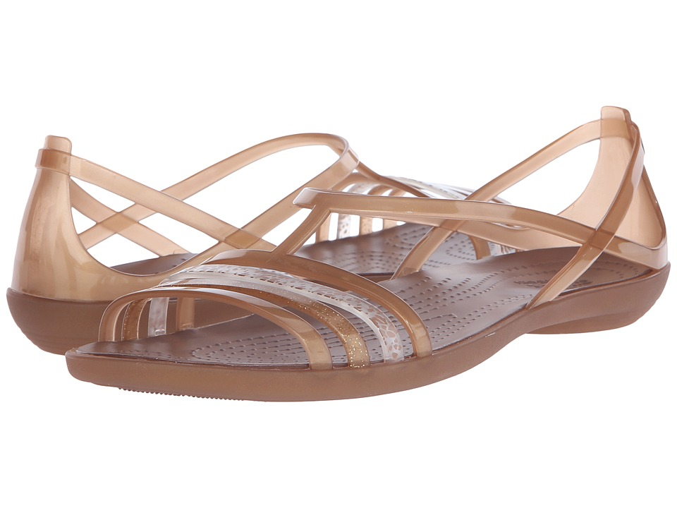 Crocs - Isabella Sandal (Bronze) Women's Sandals