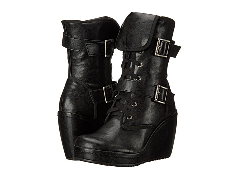 Rocket Dog - Bridge (Black City Town) Women's Lace-up Boots