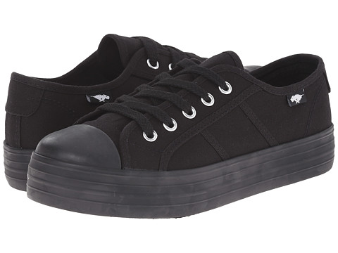 Rocket Dog - Magic (Black Canvas) Women's Lace up casual Shoes