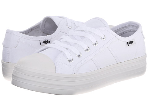 Rocket Dog - Magic (White Canvas) Women's Lace up casual Shoes