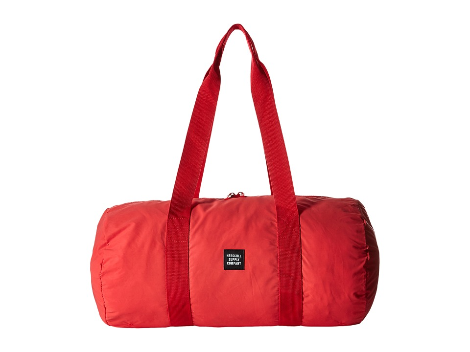 Herschel Supply Co. - Packable Duffle (Red Reflective) Duffel Bags