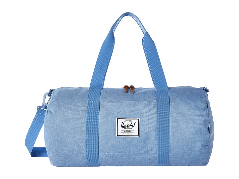Herschel Supply Co. - Sutton Mid-Volume (Chambray Crosshatch) Duffel Bags